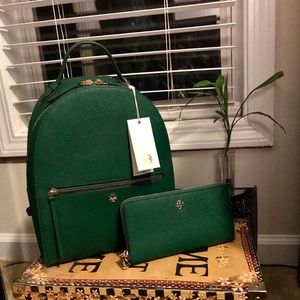 """Tory Burch Emerson Back Pack & Wallet """"Authentic"""""""